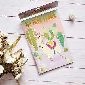 Other - Small Llama Notebook NWT